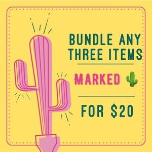 💗🌵Sale! 3 for $20🌵💗